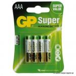 Baterija GP 1,5V, LR03AAA 24A super alkalna-4 kom