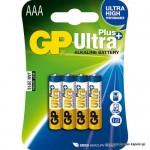 Baterija GP 1,5V, LR03AAA Ultra + alkalna