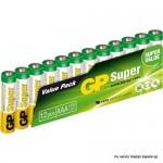 Baterija GP 1,5V,LR03AAA,  S.alkalne,12bat