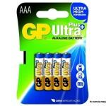 Baterija GP 1,5V,LR03AAA Ultra Plus Alkalna ,24AUP-U4