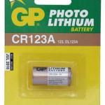 Baterija GP 3V, CR123A