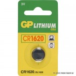 Baterija GP 3V,CR1620