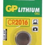 Baterija GP 3V,CR2016, 10kom