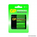 Baterija GP 4,5V,3R12, GP312G greencell