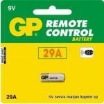 Baterija GP 9V, 29A Ultra, Alkalna