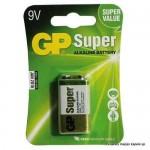 Baterija GP 9V, Super Alkalna