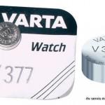 Baterija V377 Varta
