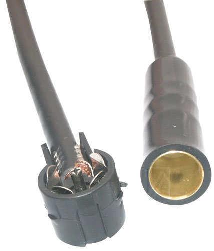 Antenski adapter za avto anteno,50cm,adapter ISO-DIN,Ž