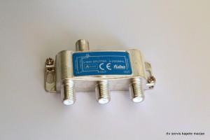 Antenski razdelilec-delilec antenskega signala 1/3 z F konektorji